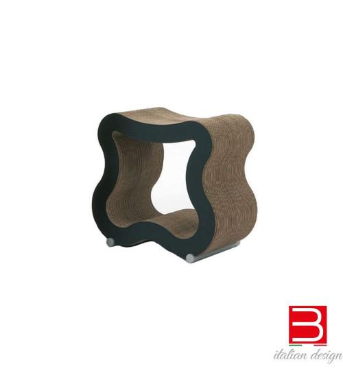 Sgabello in cartone kubedesign Sgas
