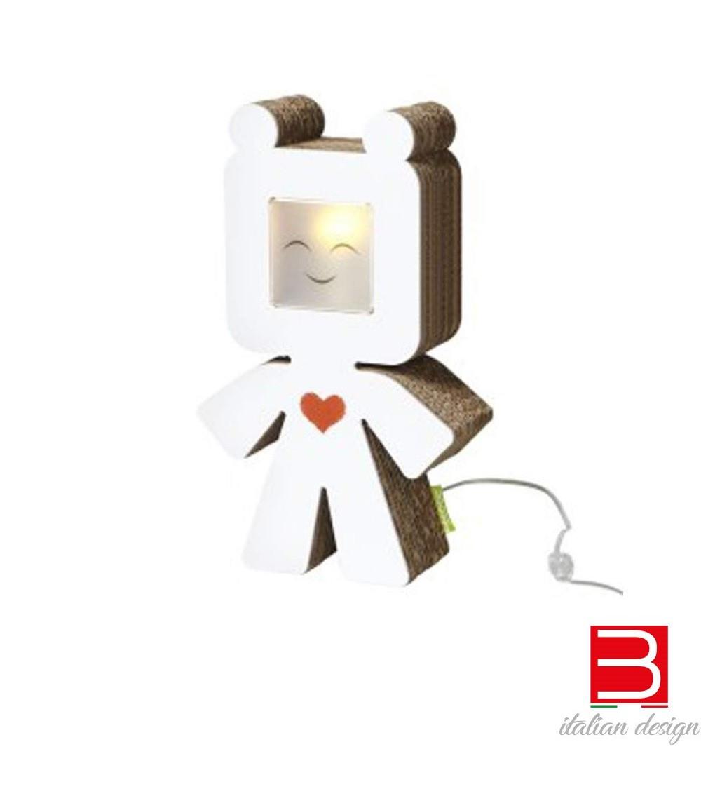 lámpara de mesa Kubedesign Ted Superkube