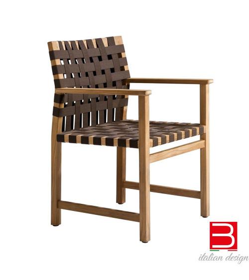 Chaise avec accoudoirs Tribù Vis à vis
