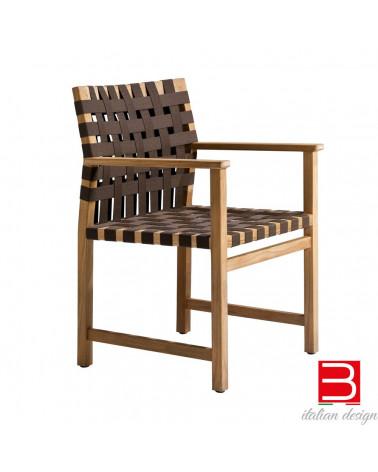 Chair with armrests Tribù Vis à vis