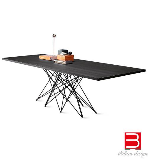 Bonaldo Tavolo Octa con gambe cromate/ black nichel 300 cm x 108 x 75 cm