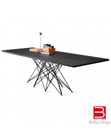 Tisch Bonaldo Octa Chrombeinen/ black nichel 300 cm x 108 x 75 cm