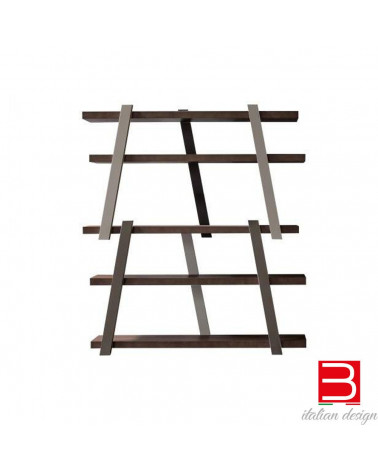 Bookcase  Bonaldo Note in veneered wood
