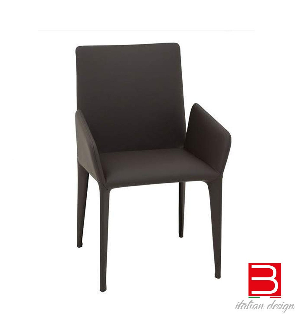 Bonaldo Miss Filly gambe rivestite sedia