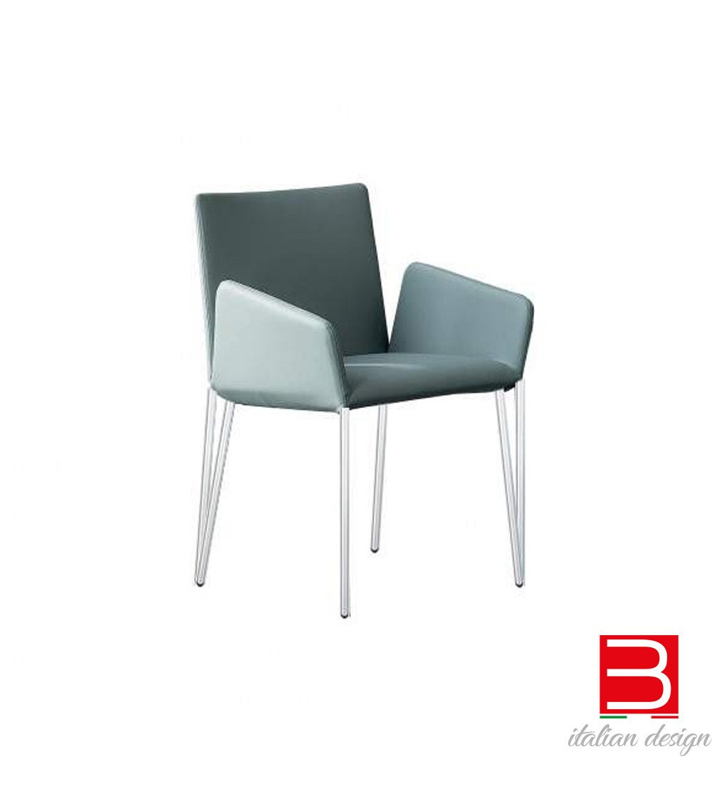 Chair  Bonaldo Miss Filly chrome legs or black nickel
