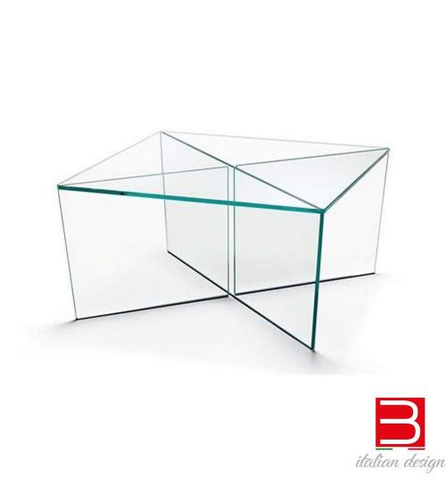 Tavolino Tonelli Mirage in vetro extrachiaro