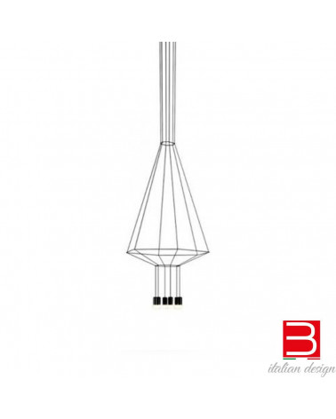 Lampe suspension Vibia Wireflow