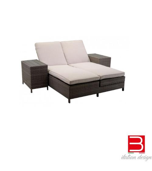 Vacchetti Atlanta reclinable sunbed