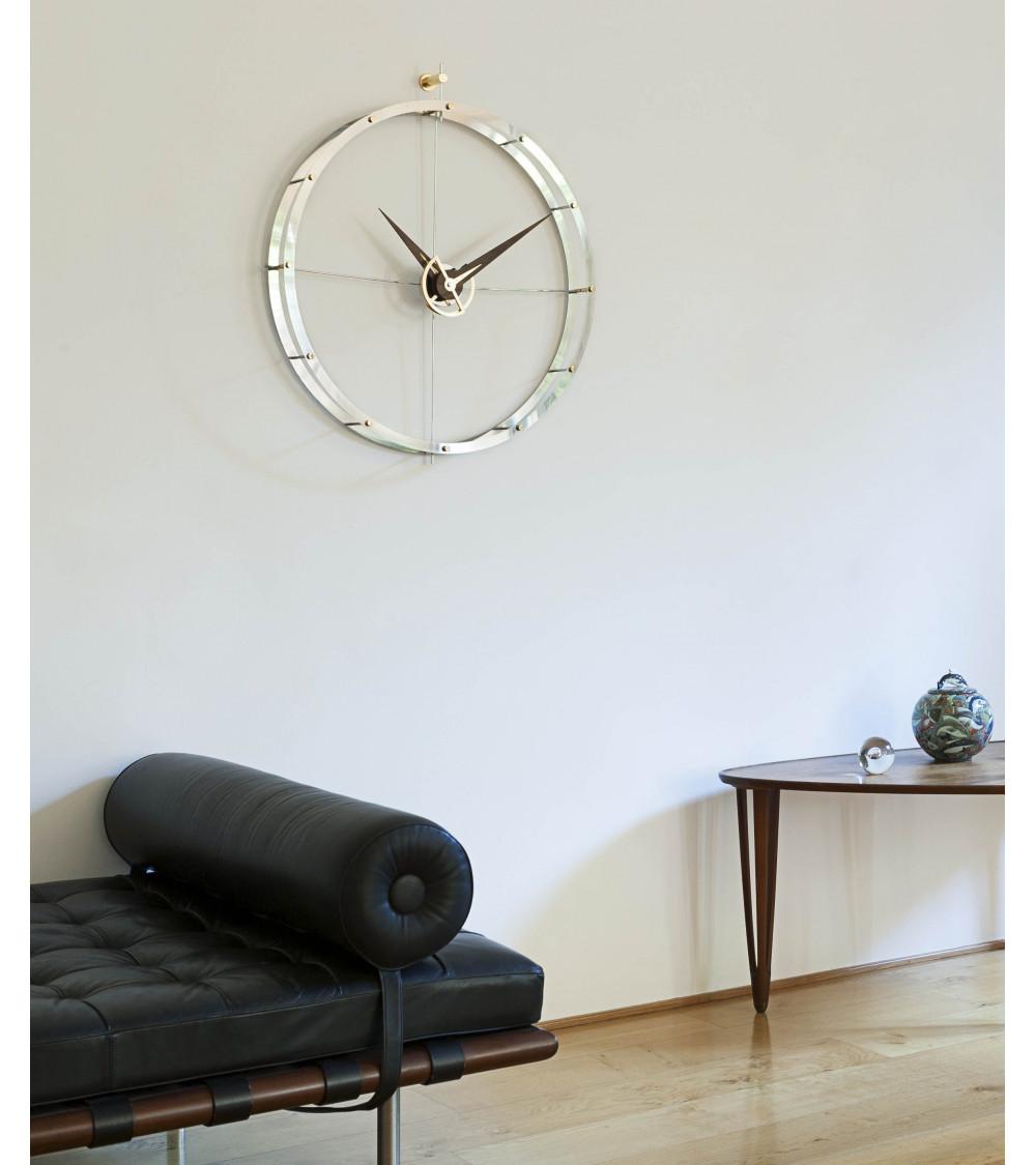 Wall-Mounted clock nomon Doble O i