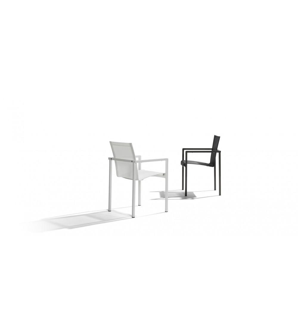 Chair with armrests Tribù Natal Alu