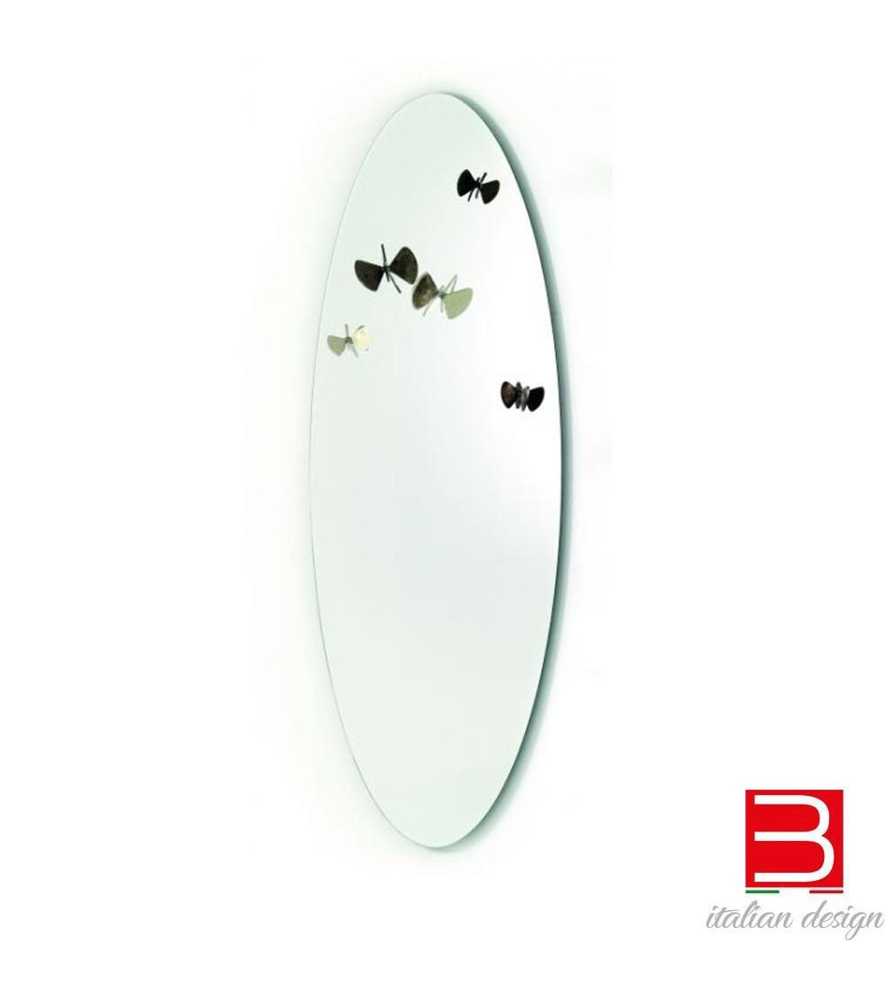 Specchio con farfalle Mogg Bice