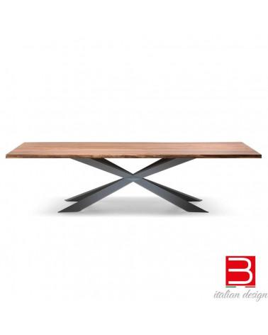 Table Cattelan Spyder Wood (versione A)