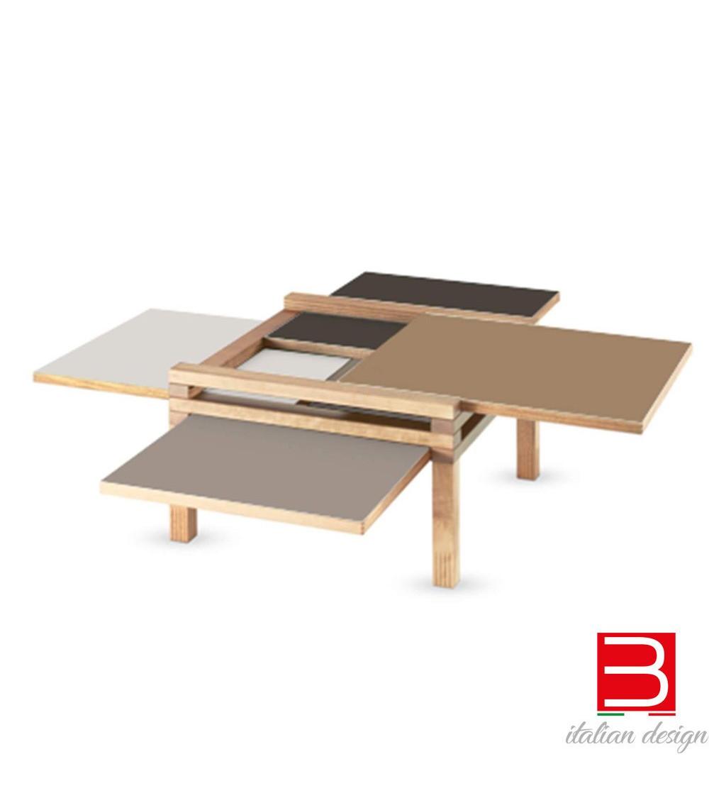 Table basse Sculptures Jeux Par4 - H 40 Earth