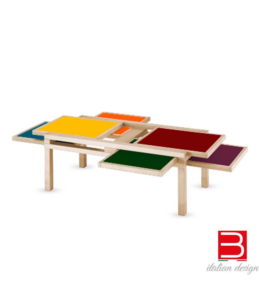 hexa color tavolini in legno sculptures jeux