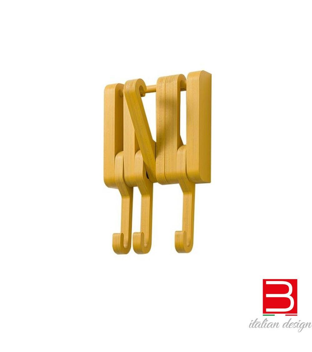 attaccapanni a muro in legno massello hidden sculptures jeux
