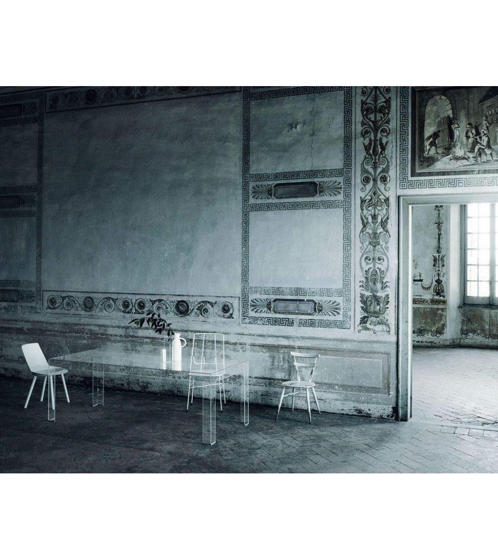 Tavolo rettangolare Glas Italia Atlantis