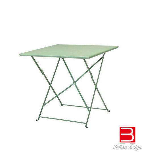 Square table folding 80x80 cm Ethimo Flower