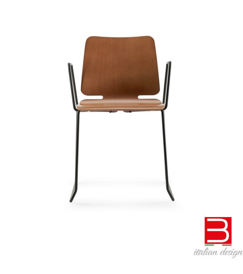 Chair with armrests Ondarreta Noa