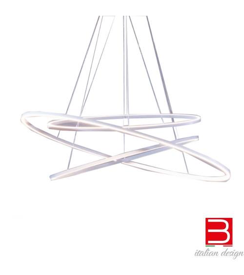Ceiling Lamp Nemo Ellisse triple