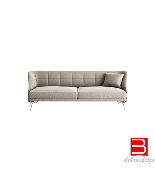 Sofá Leeon Soft Driade con pies de aluminio