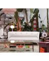 Sofa Leeon Soft Driade avec pieds en aluminium