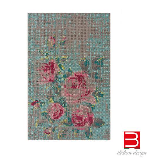 Carpet Gan Canevas Flowers Colour