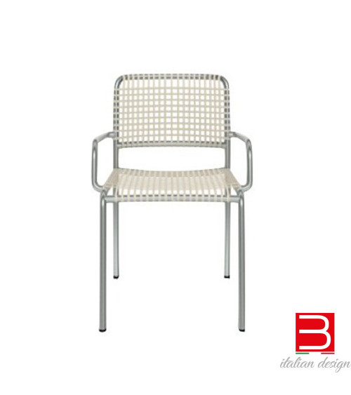 allu 24 I / 224 I sedie moderne di alluminio gervasoni