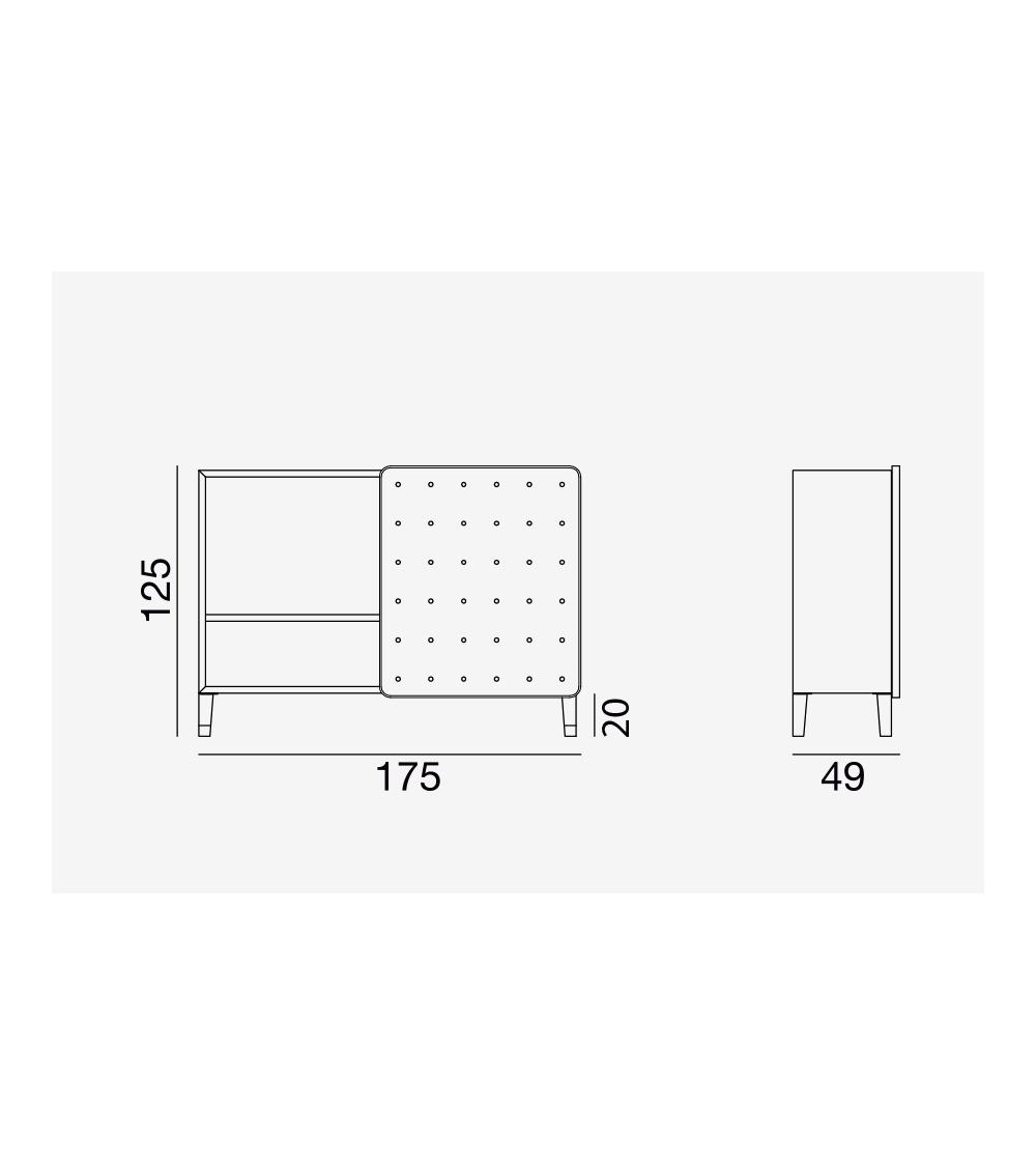 credenza brick 67 moderna gervasoni