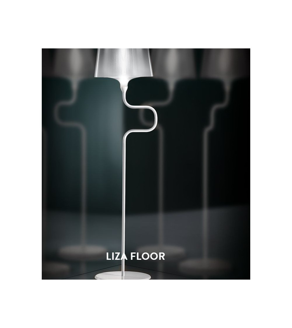 Lámpara de tierra Slamp Liza
