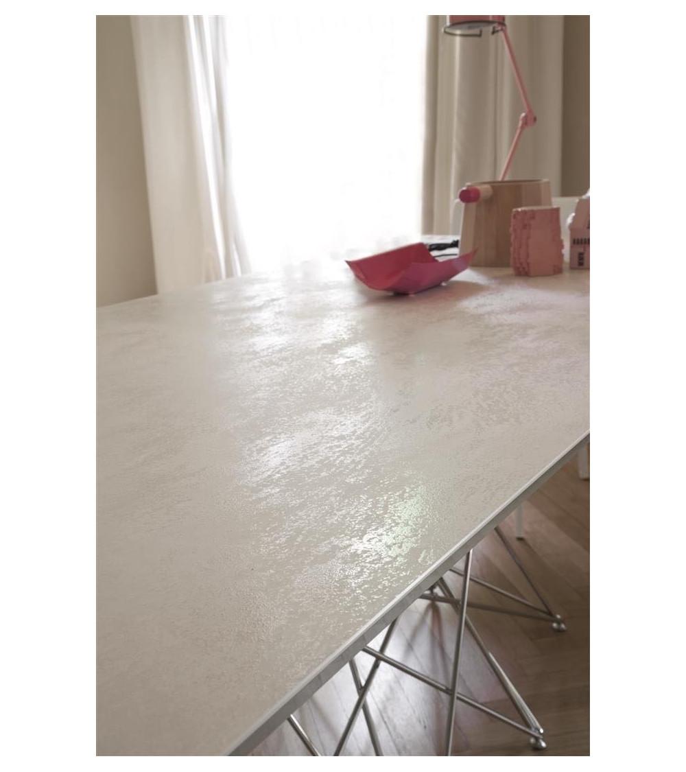 Table Bonaldo Octa pieds chromés/ black nichel 250 cm x 100 x 75