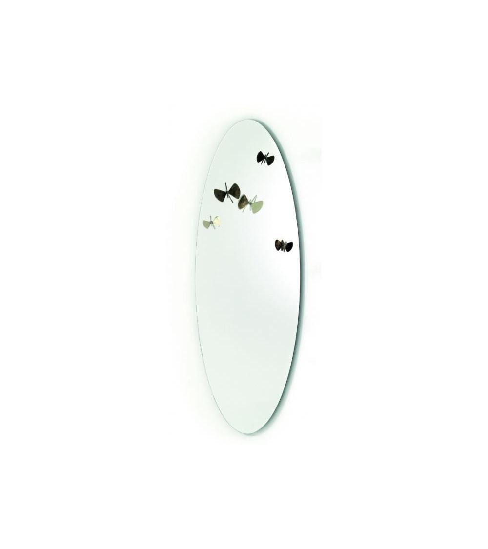 Specchio con appendiabiti Mogg Bice