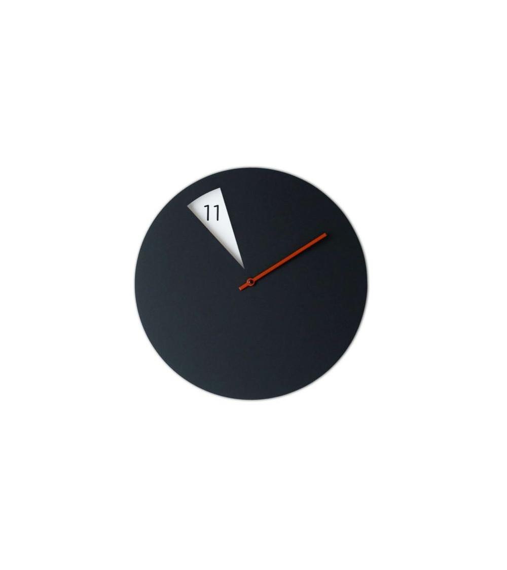 Orologio da parete Sabrina Fossi FreakishCLOCK black/red