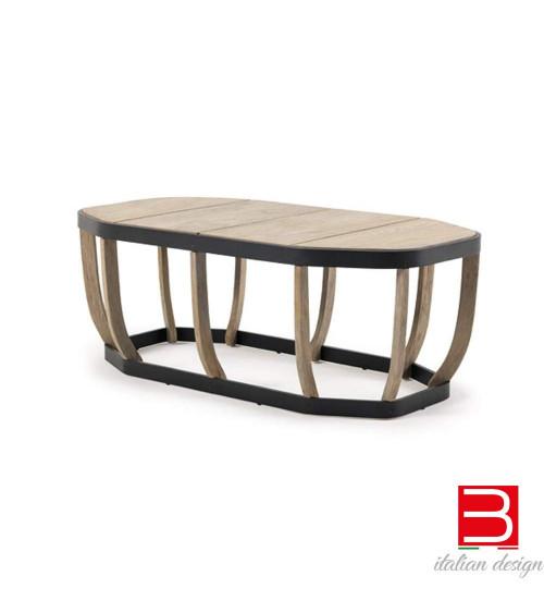 Tavolino basso ottagonale Ethimo Swing