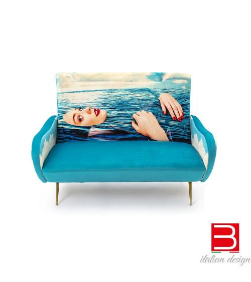 Canapé 2 places Seletti Toiletpaper Sea Girl