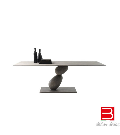 Tabelle mogg Matera rechteckige Version