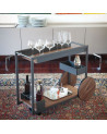 Chariot-bar Cattelan Brandy