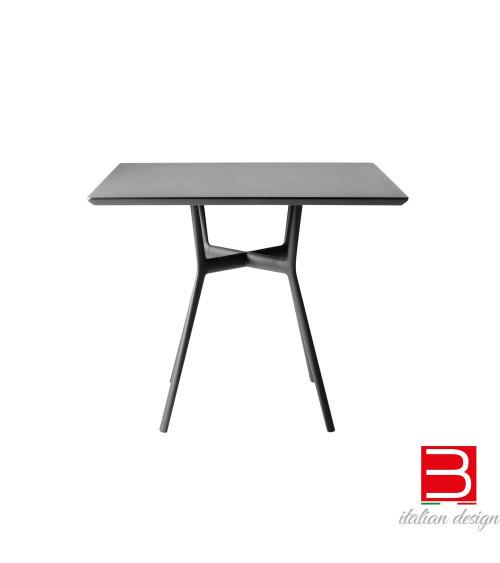 Square table Tribu' Branch Wengé
