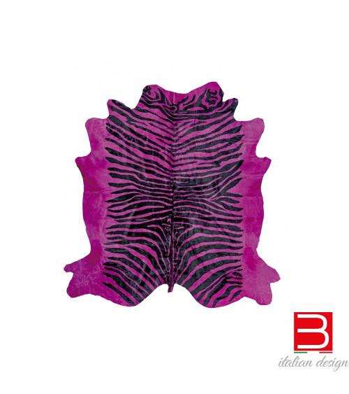 Alfombra Sitap Pelle Zebra Fuxia