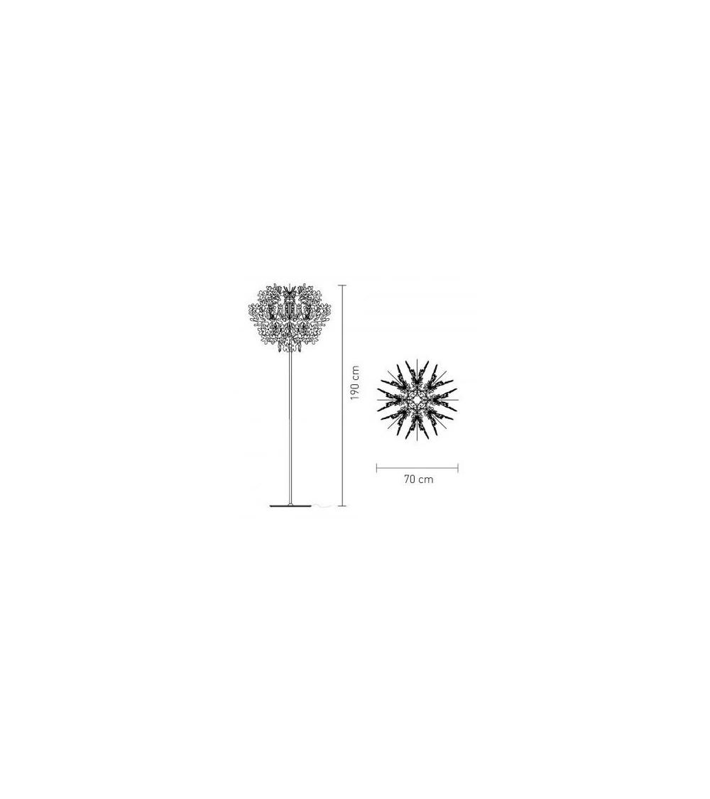 Lámpara de Pie Slamp Fiorella