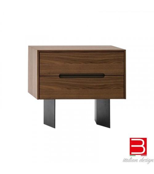 Table de chevet Bonaldo Wai avec deux tiroirs