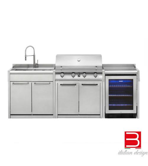 Barbecue Steel Cucine Green 90