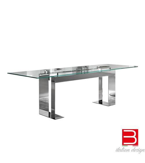 Table Tonelli Miles chrome
