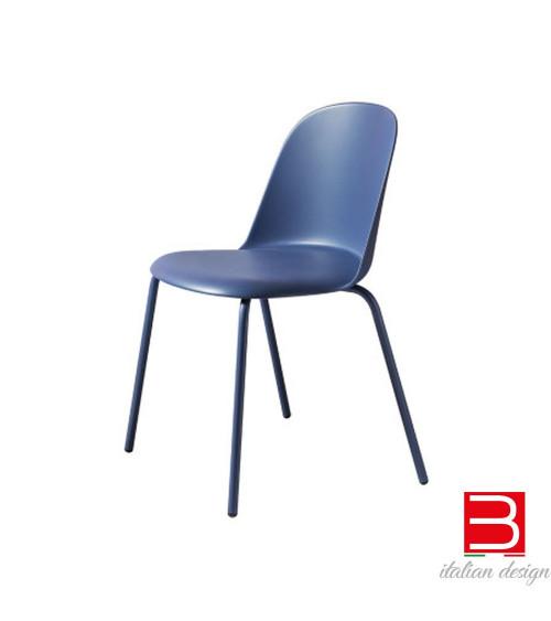 Chair Miniforms Mariolina metal legs