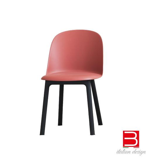 Chair Miniforms Mariolina wood legs