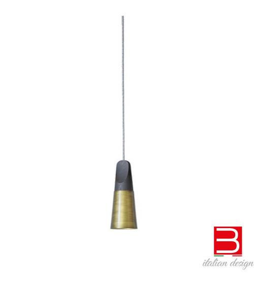 Lampada a sospensione Miniforms Slope Bronzé
