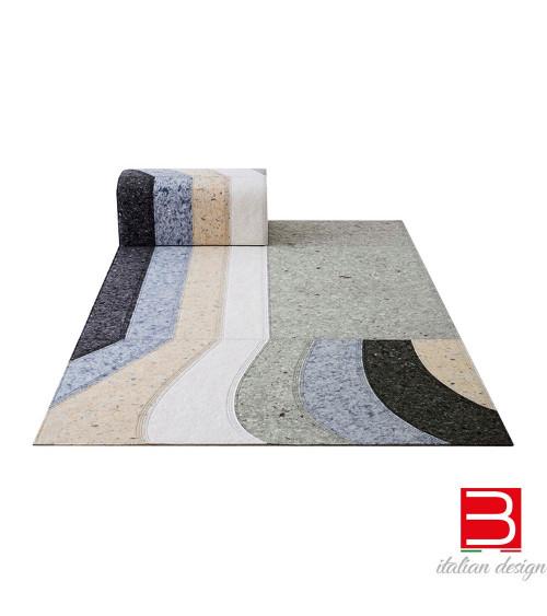 Carpet and ottoman composition Gan Nuances Burgundy