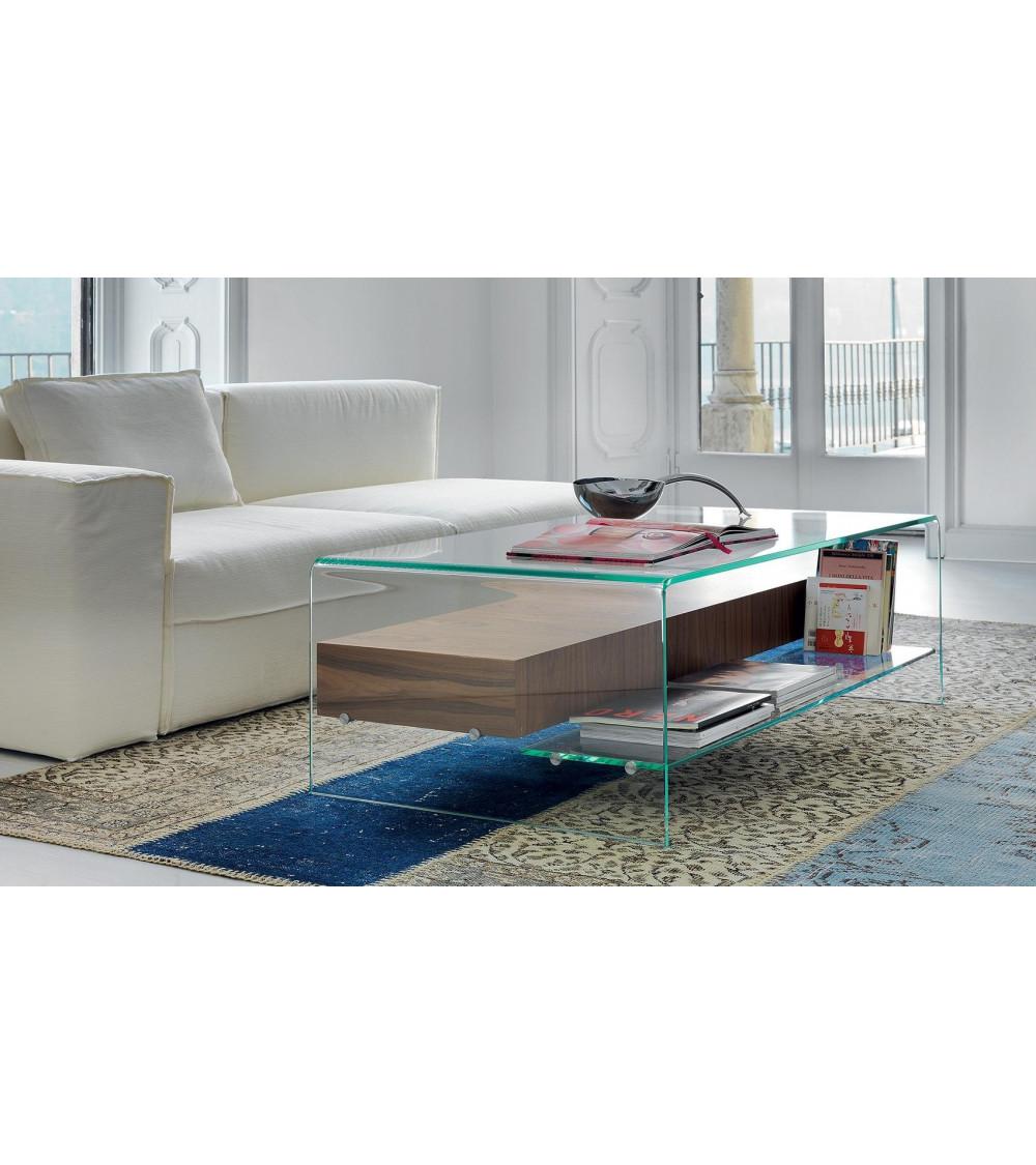 Coffe Table Sovet Italia Bridge - with shelf