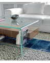 Tavolino Sovet Italia Bridge - con mensola