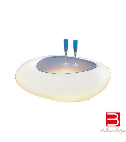 Tavolino Tonin Casa Kos 8190L con luce
