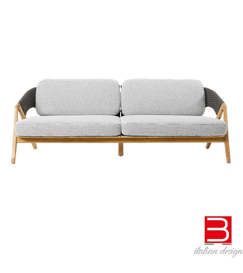 Sofá de 3 plazas Ethimo Knit